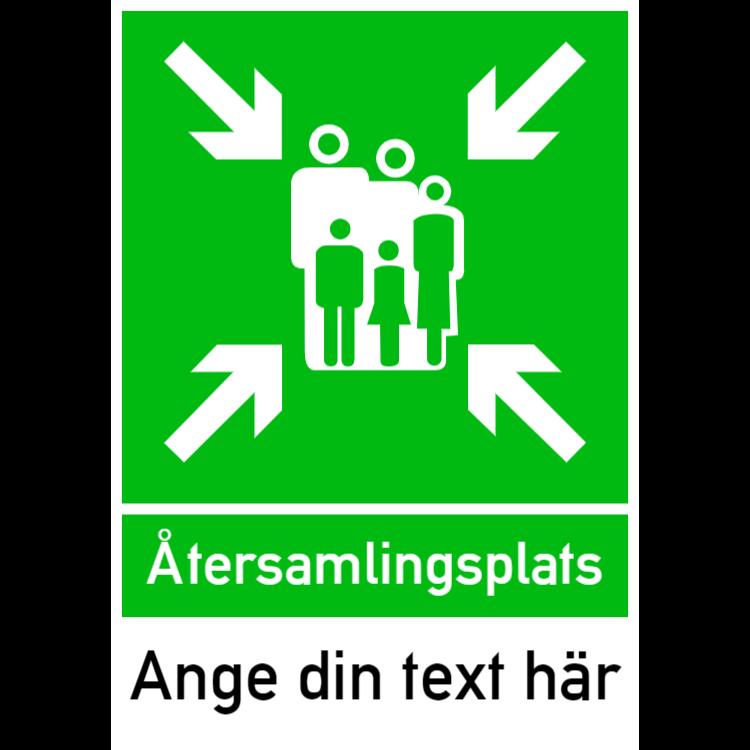 Återsamlingsplats – Valfri text