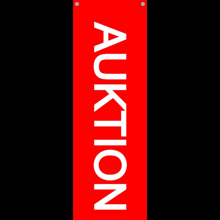 AUKTION skylt