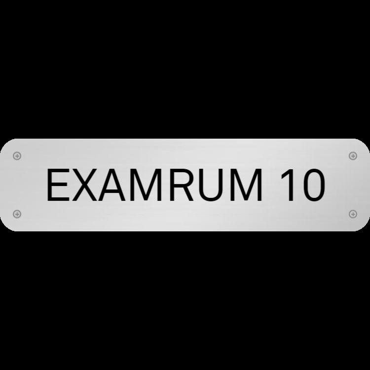 Examensrumsskylt