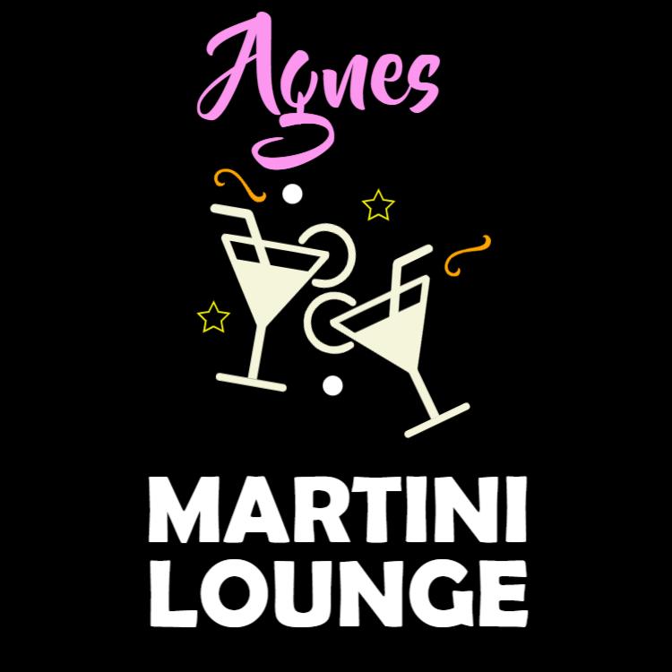 Martini lounge skylt