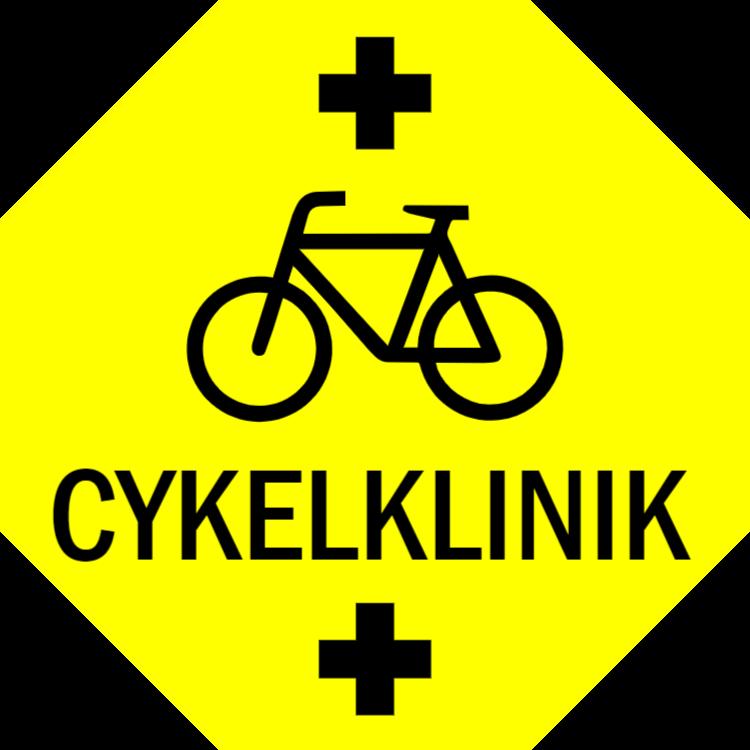 Cykelklinikskylt