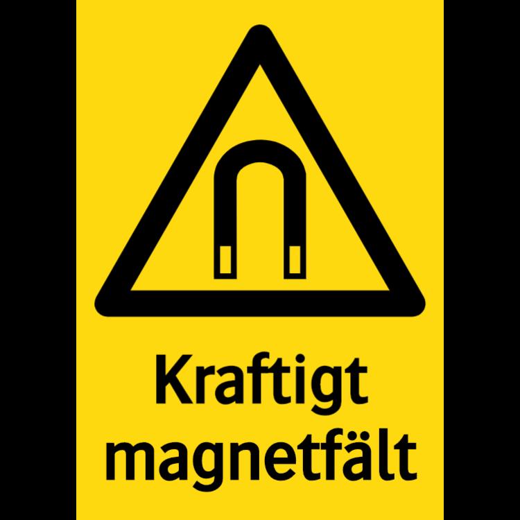 Kraftigt magnetfält