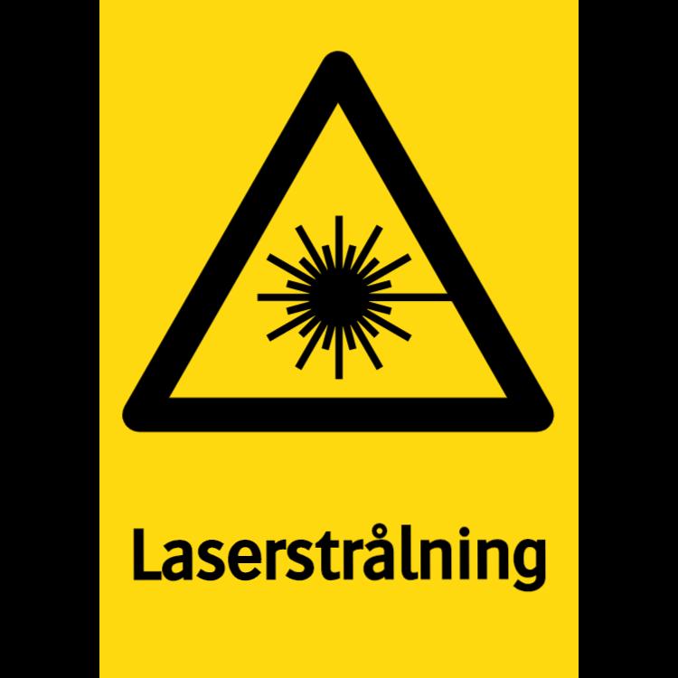 Laserstrålning