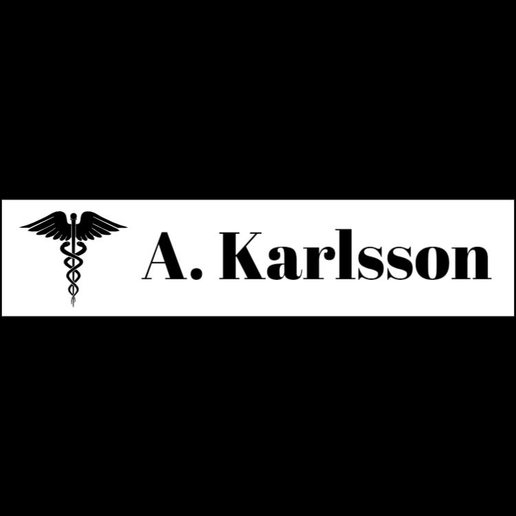 Vit namnplatta för läkare