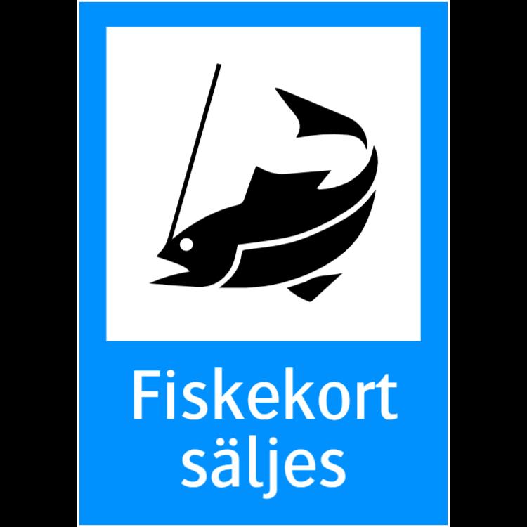 Fiskekort Säljes