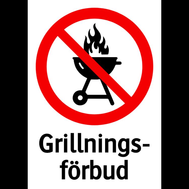 Grillningsförbud