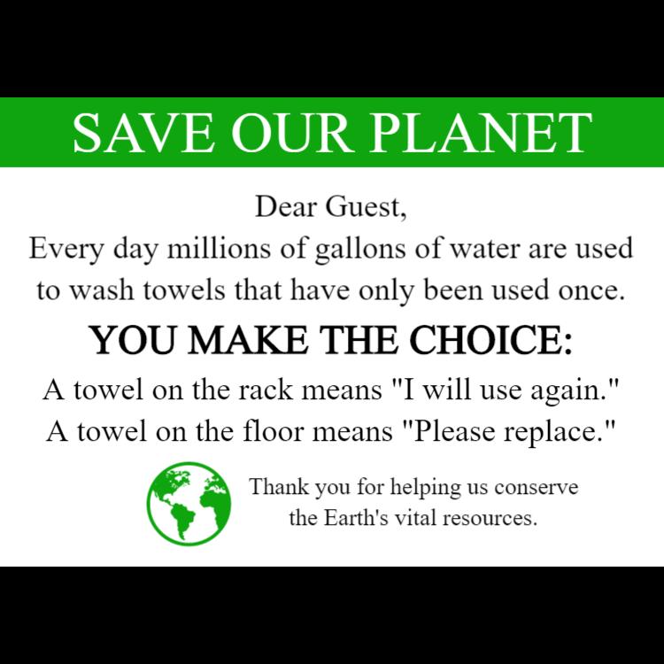 Rädda vår planet / Save our planet
