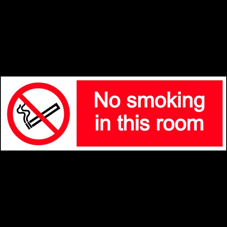 Rökning förbjuden i detta rum