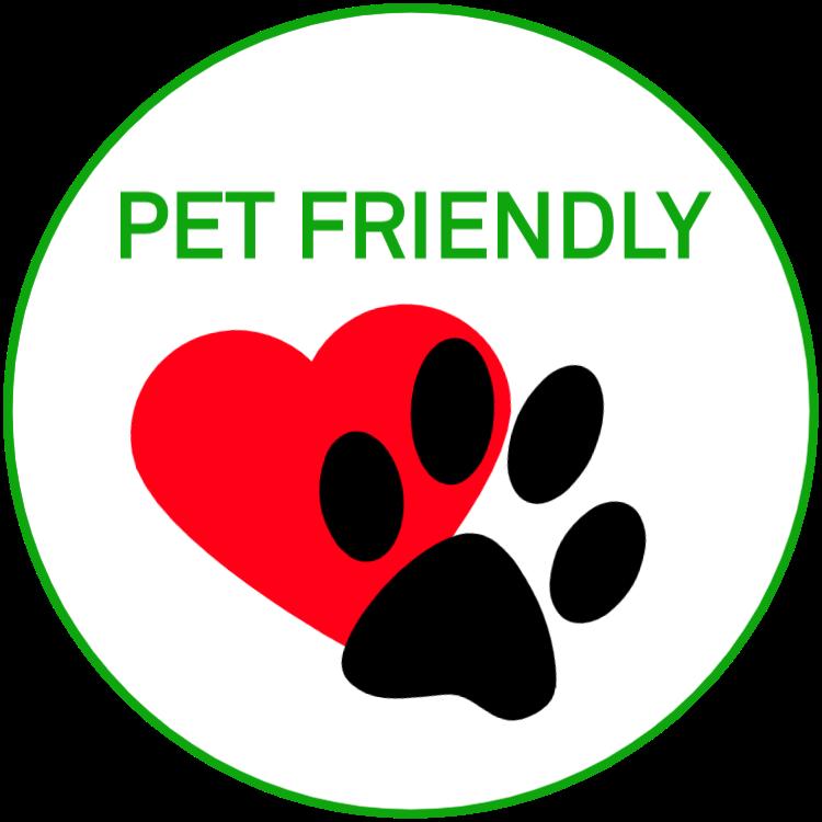 Husdjursvänliga / Pet friendly - klistermärken