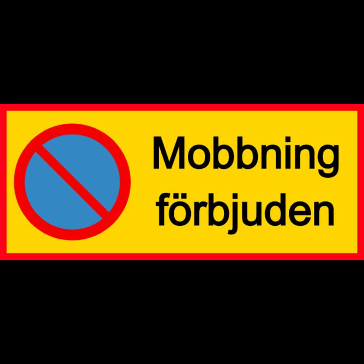 Mobbning förbjuden