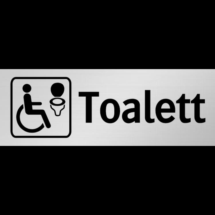 Handikapptoalett skylt