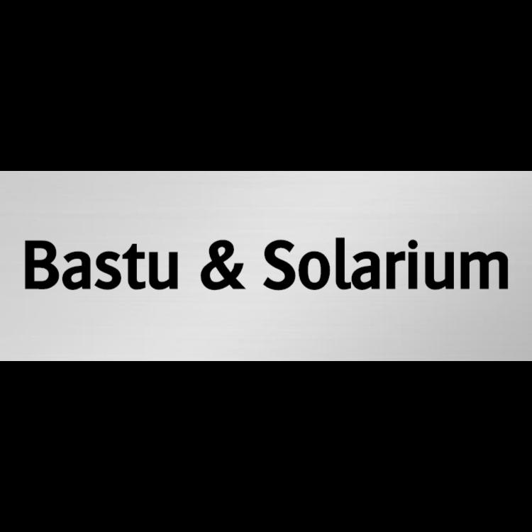 Bastu & Solarium skylt