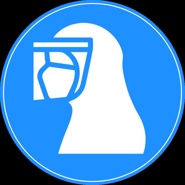 Skyddsdräkt - klistermärke 1