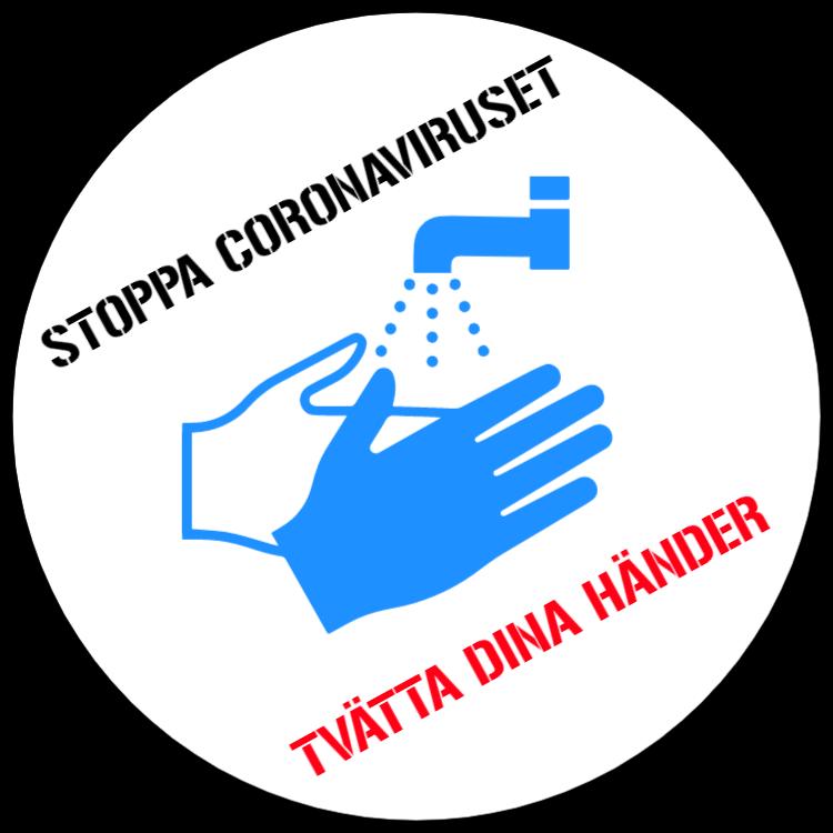 Stoppa coronaviruset - tvätta dina händer