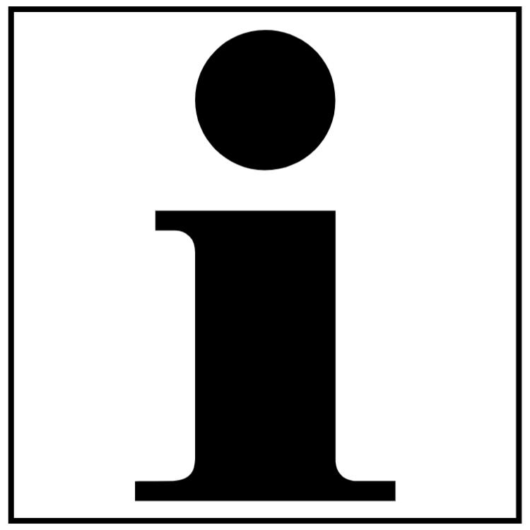 Info - Aluminium skylt