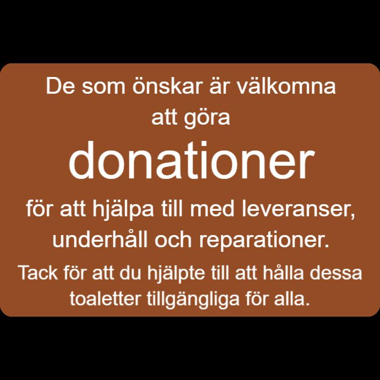 Välkommen att göra donationer