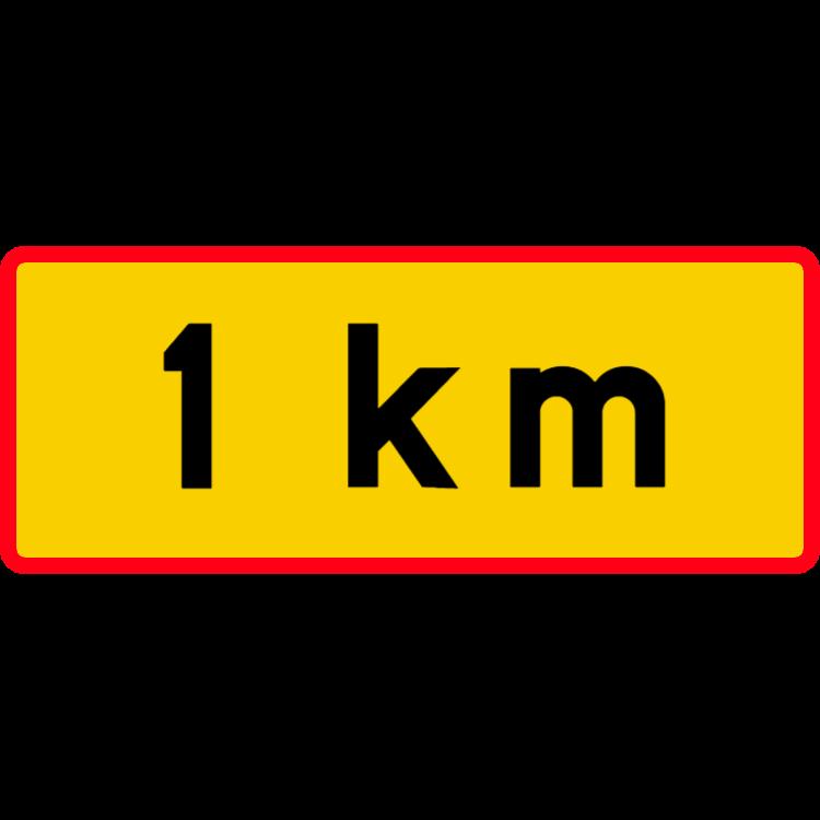 Avstånd till... 1 km
