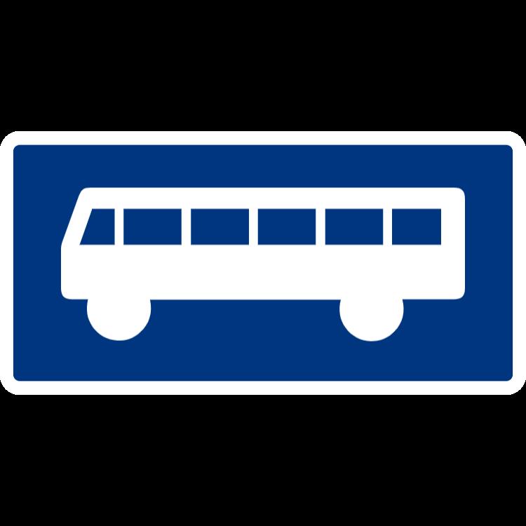 Symboltavla - Buss