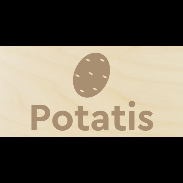 Potatis tecken