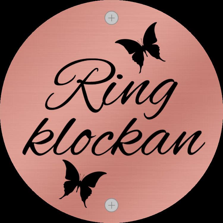 Ring klockan - Rose guld tecken