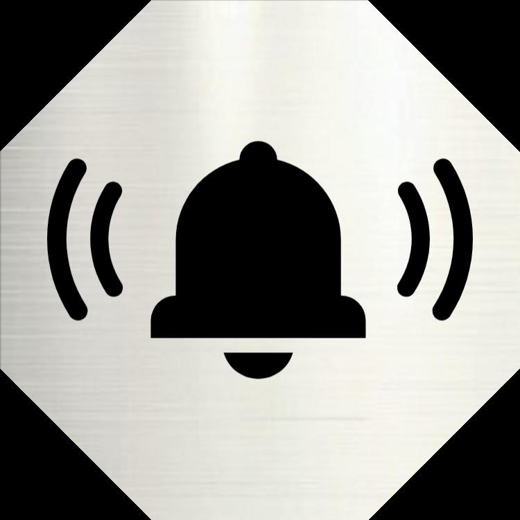Ringklocka - Aluminiumskyltar