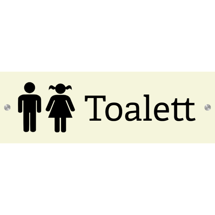 Toalett - Alu-komposit