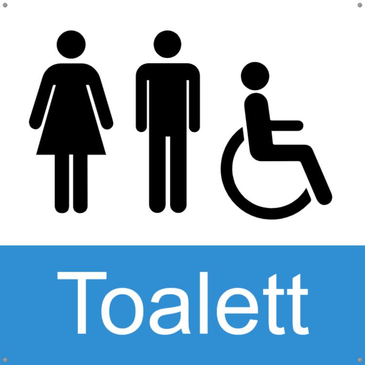 Toalett - Alu-komposit 2