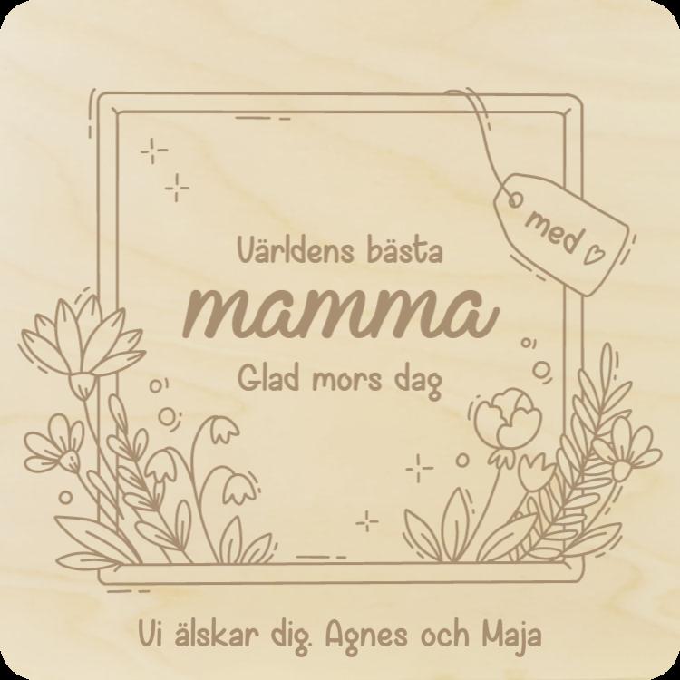 Underlägg för mamma 1