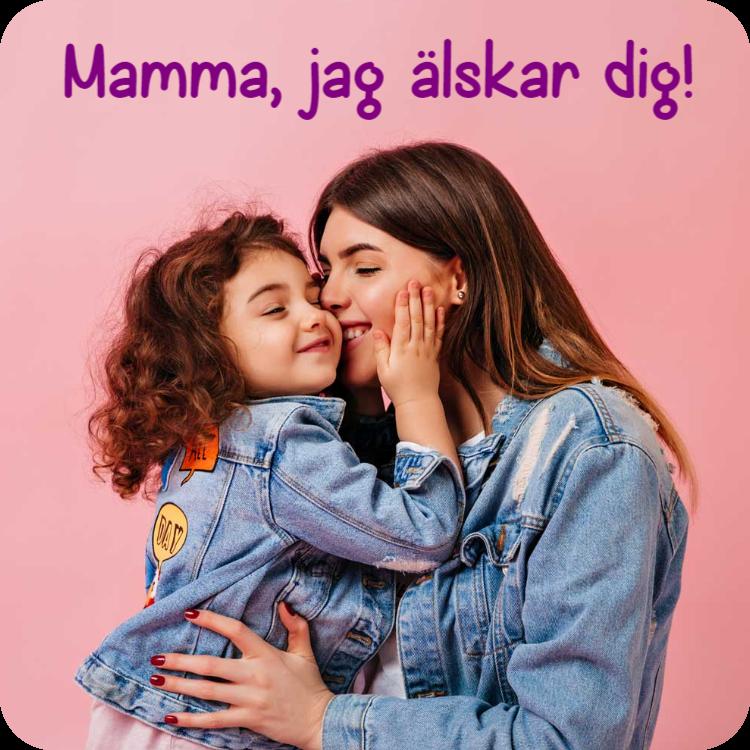 Mamma - Kylskåpsmagnet
