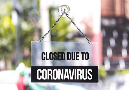 Coronaviruset (COVID-19) - Stängningsskyltar