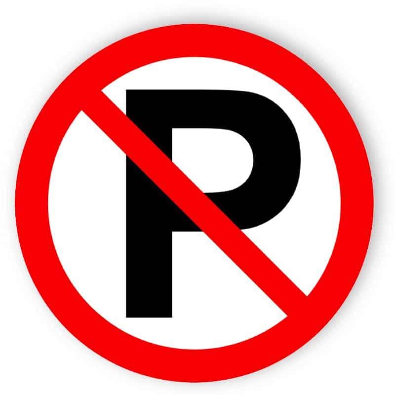 Ingen parkering