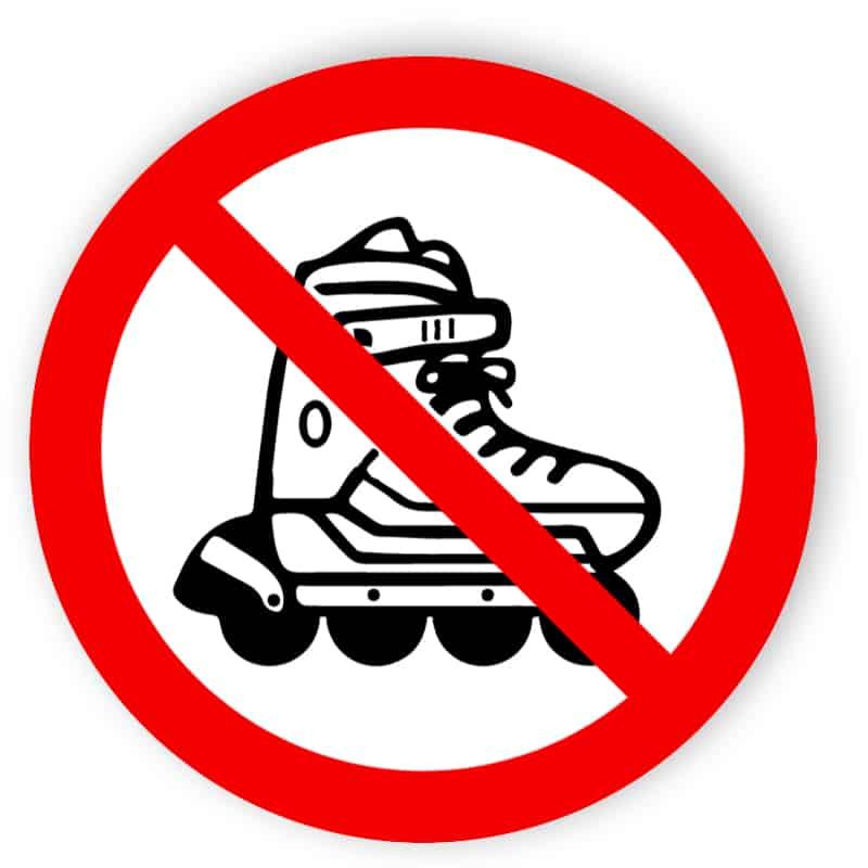 Inlines förbjudna
