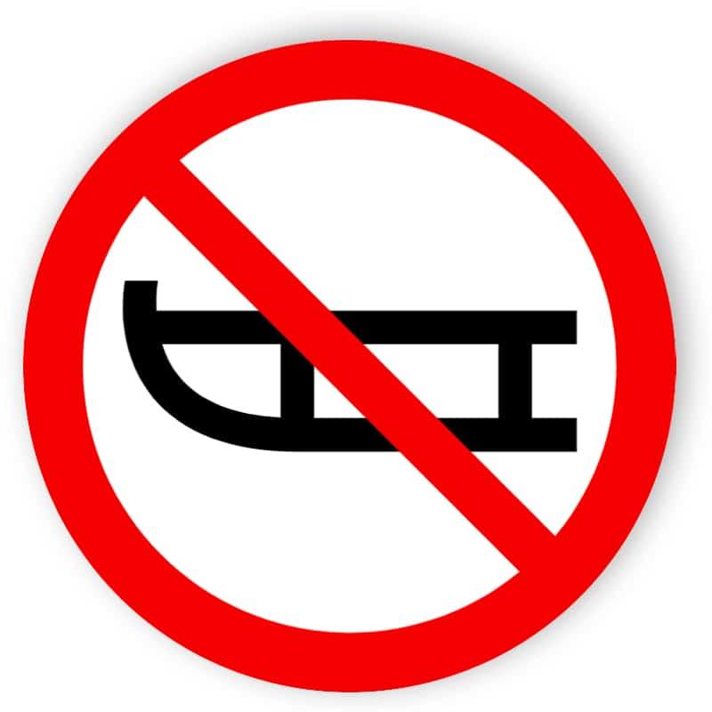 pulka förbjudna