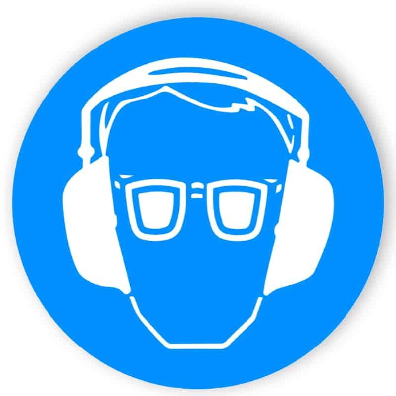 Ögon och hörselskydd 1
