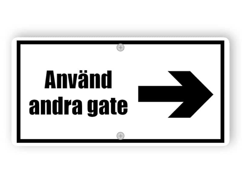 Anvand andra gate