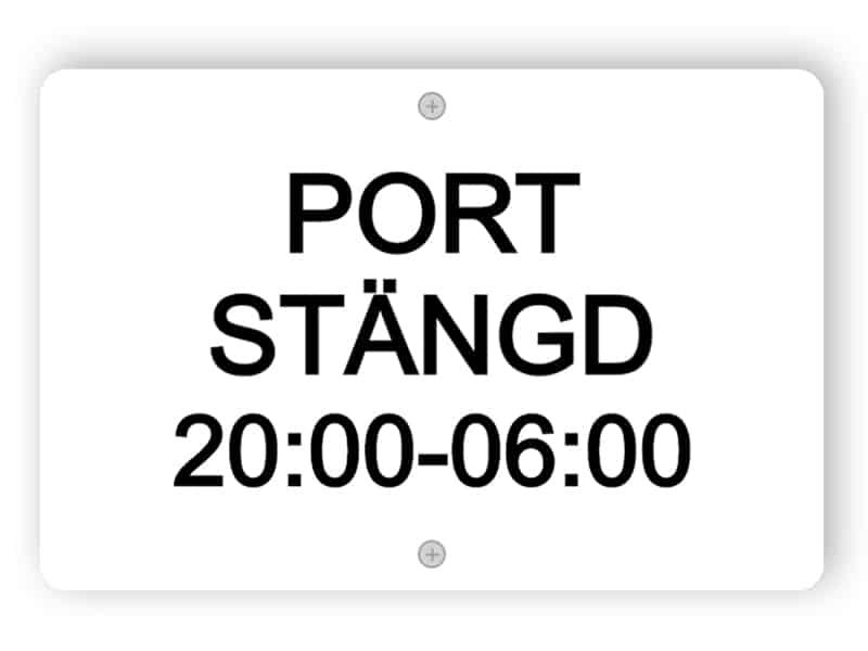 Port Stangd