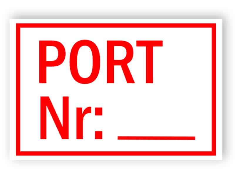 Port nr: