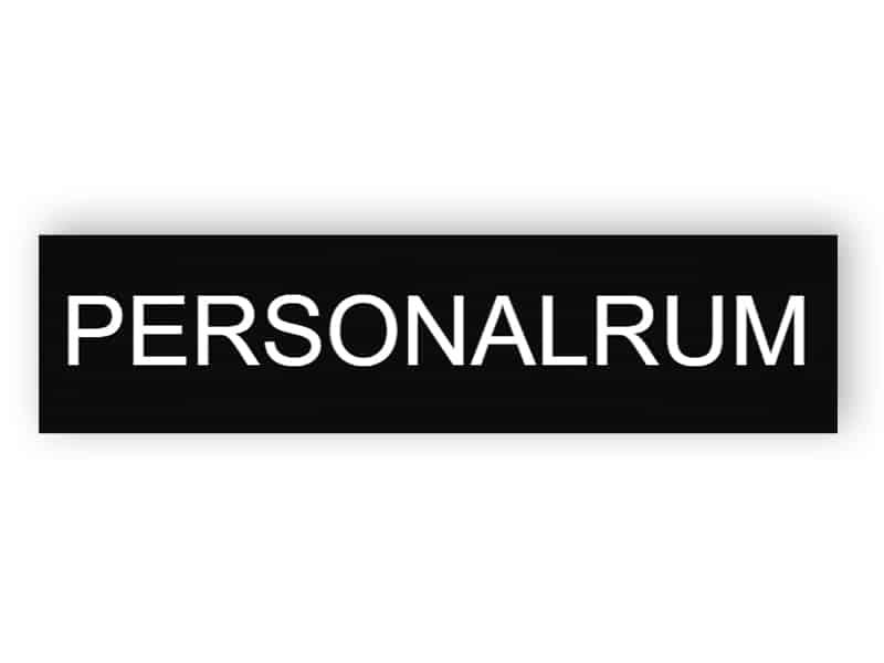 Personalrum 1