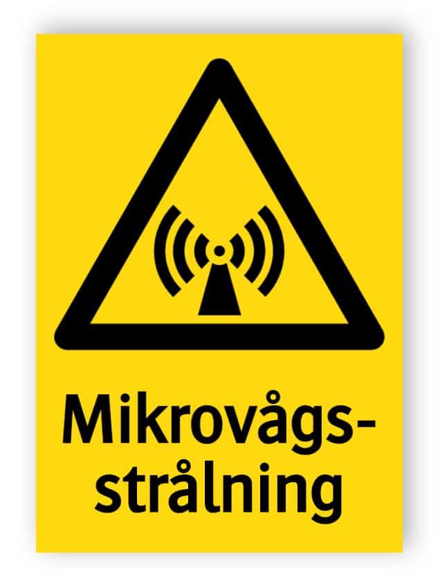 Mikrovågsstrålning