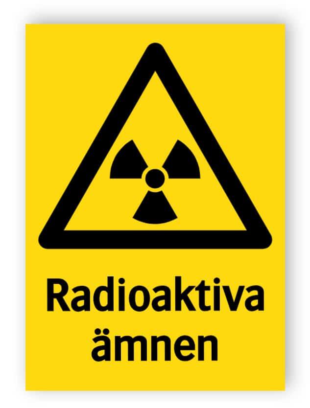 Radioaktiva ämnen