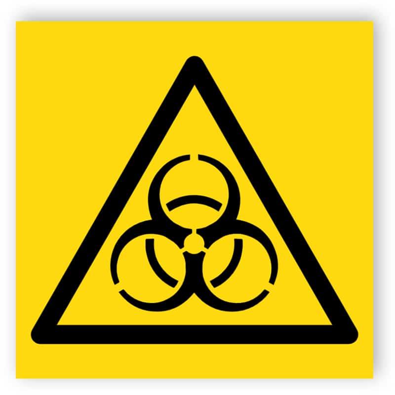 Smittrisk symbol