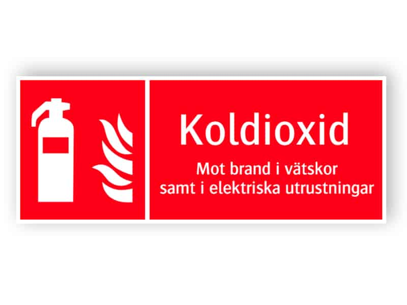 Brandsläckare koldioxid 1