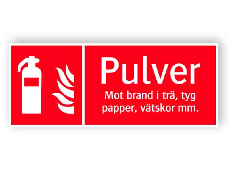 Brandsläckare pulver 1