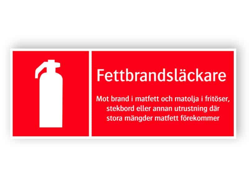 Fettbrandsläckare 1