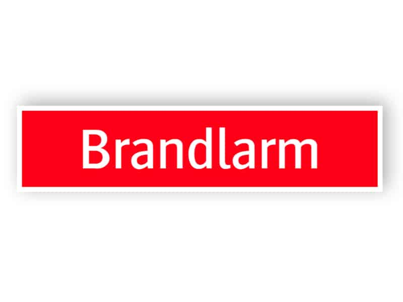 Brandlarm 1