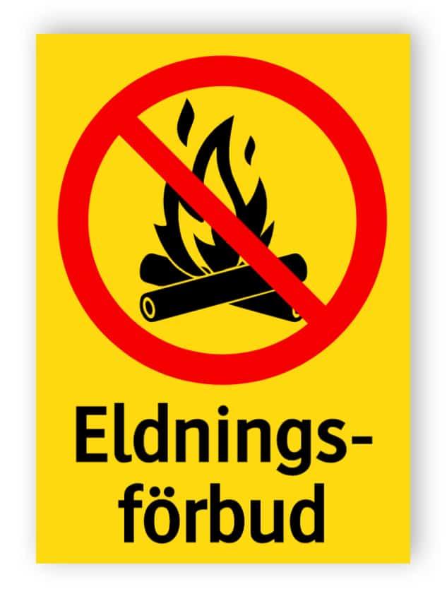 Eldningsförbud 1