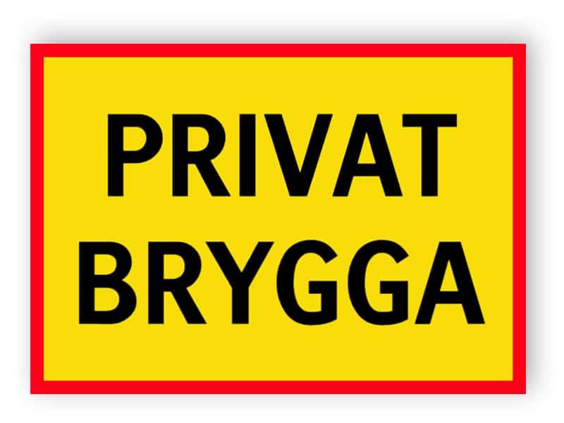 Privat brygga