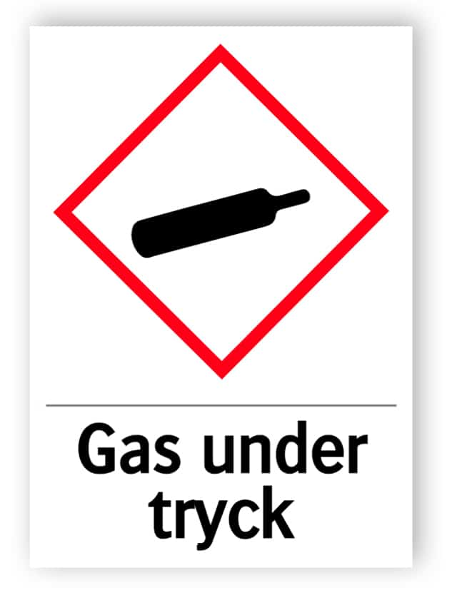 Gas under tryck