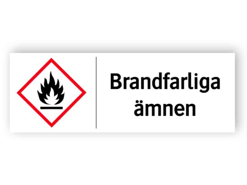 Brandfarliga ämnen 1