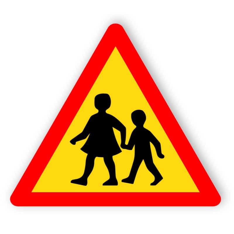 Varning för barn
